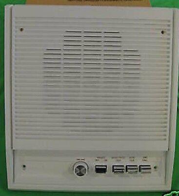 "Ernstig Nib Nutone Is-408l Adobe White 8"" Indoor Surface Mounted Intercom Speaker"