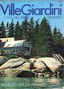 VILLE GIARDINI 113 1977 - CASA NEL VERDE, VACANZE: VILLE DA VIAGGIO - Italia - VILLE GIARDINI 113 1977 - CASA NEL VERDE, VACANZE: VILLE DA VIAGGIO - Italia