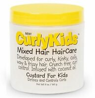 Curly Kids Mixed Hair Haircare Custard For Kids 6 Oz on Sale