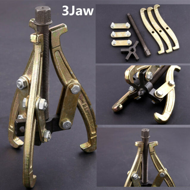 "3 Jaw Gear Puller Reversible Legs for External and Internal Pulling 3"" 75mm New"