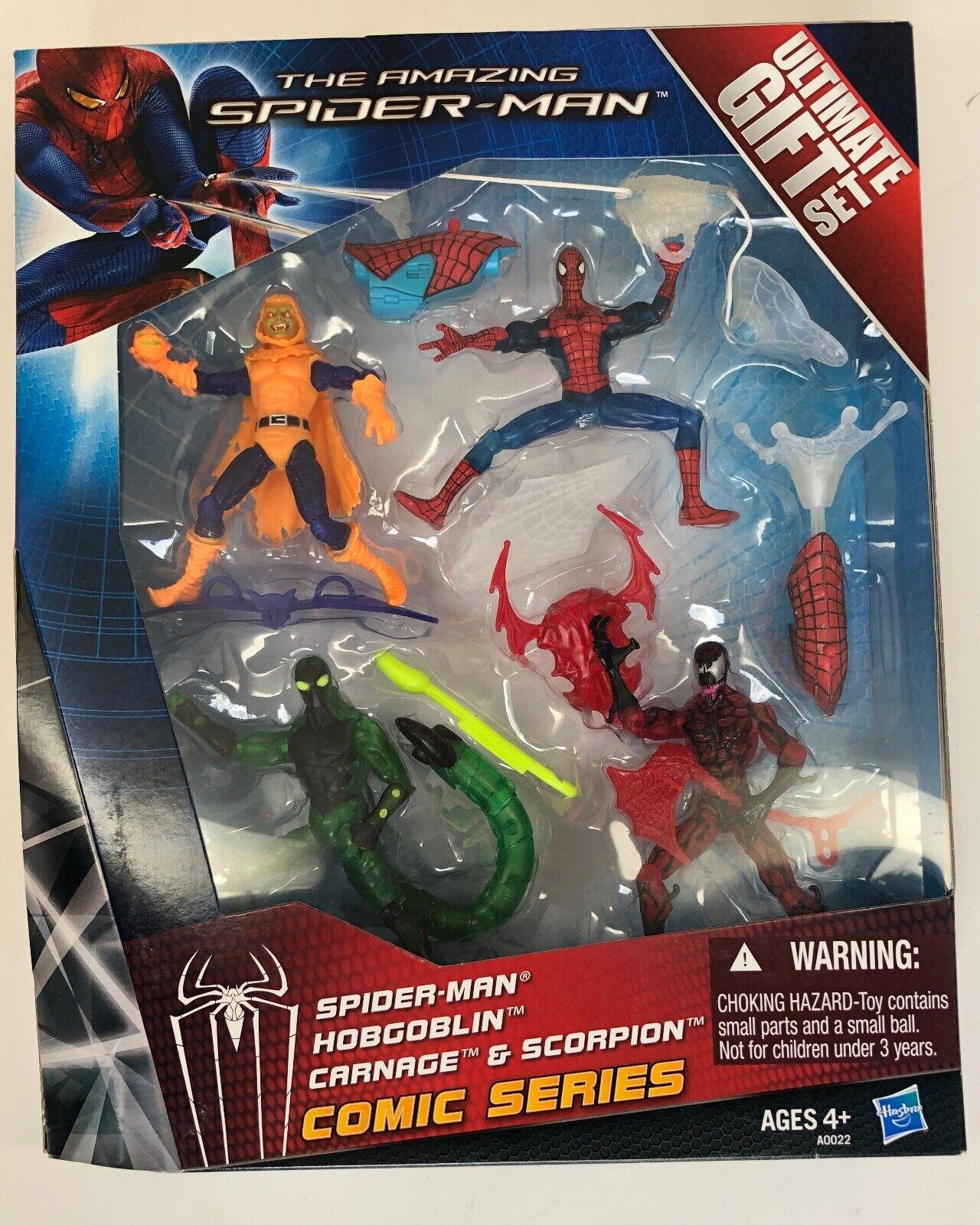 Marvel UNIVERSO 3.75 Amazing Spideruomo Ultimate Set Hobgoblin autoneficina SCORPION