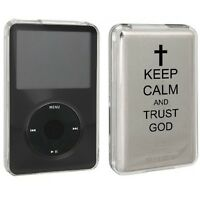For Apple Ipod Classic Hard Case Cover 80 120 160gb Keep Calm And Trust God