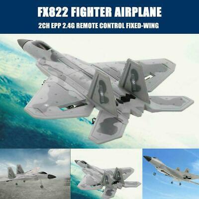 F22 2.4g rc fernbedienung modell luftkämpfer flugzeug kits geschenk spielze J7U8