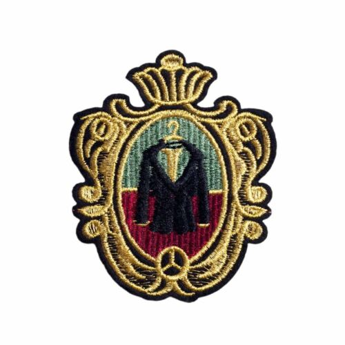 Mirror Jacket Embroidery Applique Patch Sew Iron Badge Iron on