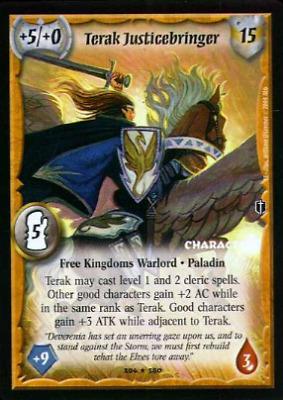 FOIL Warlord CCG Saga of the Storm KENRICK Free K