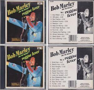 BOB MARLEY & THE WAILERS Reggae Fever Volume I & II Canada