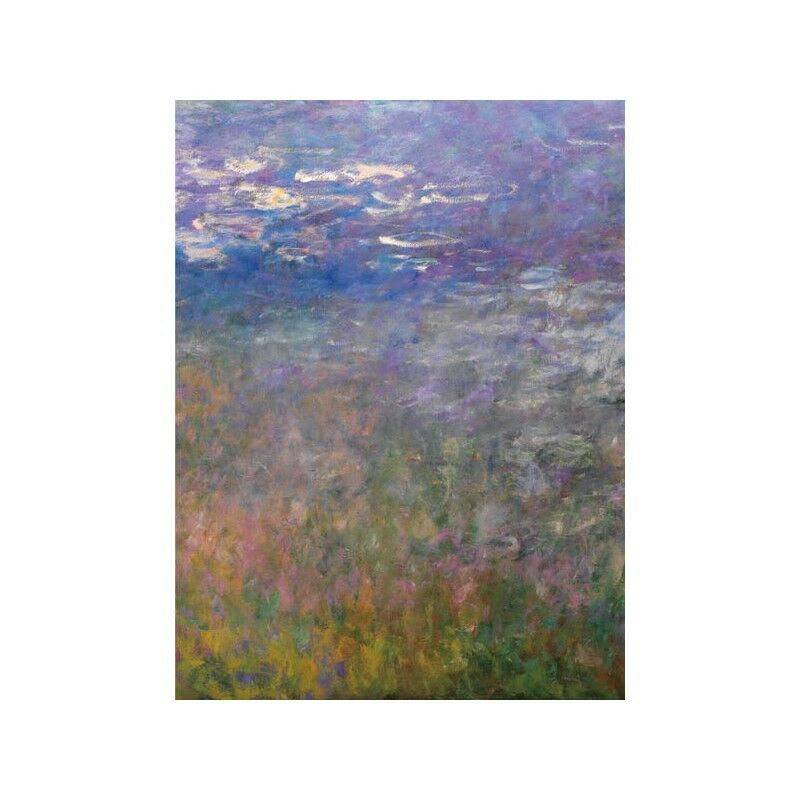 Quadro su Pannello in Holz MDF Claude Monet Water Lilies II