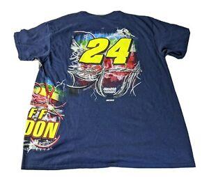NWT-Hendrick-Motorsports-Jeff-Gordon-24-All-Over-Print-T-Shirt-XL-NASCAR