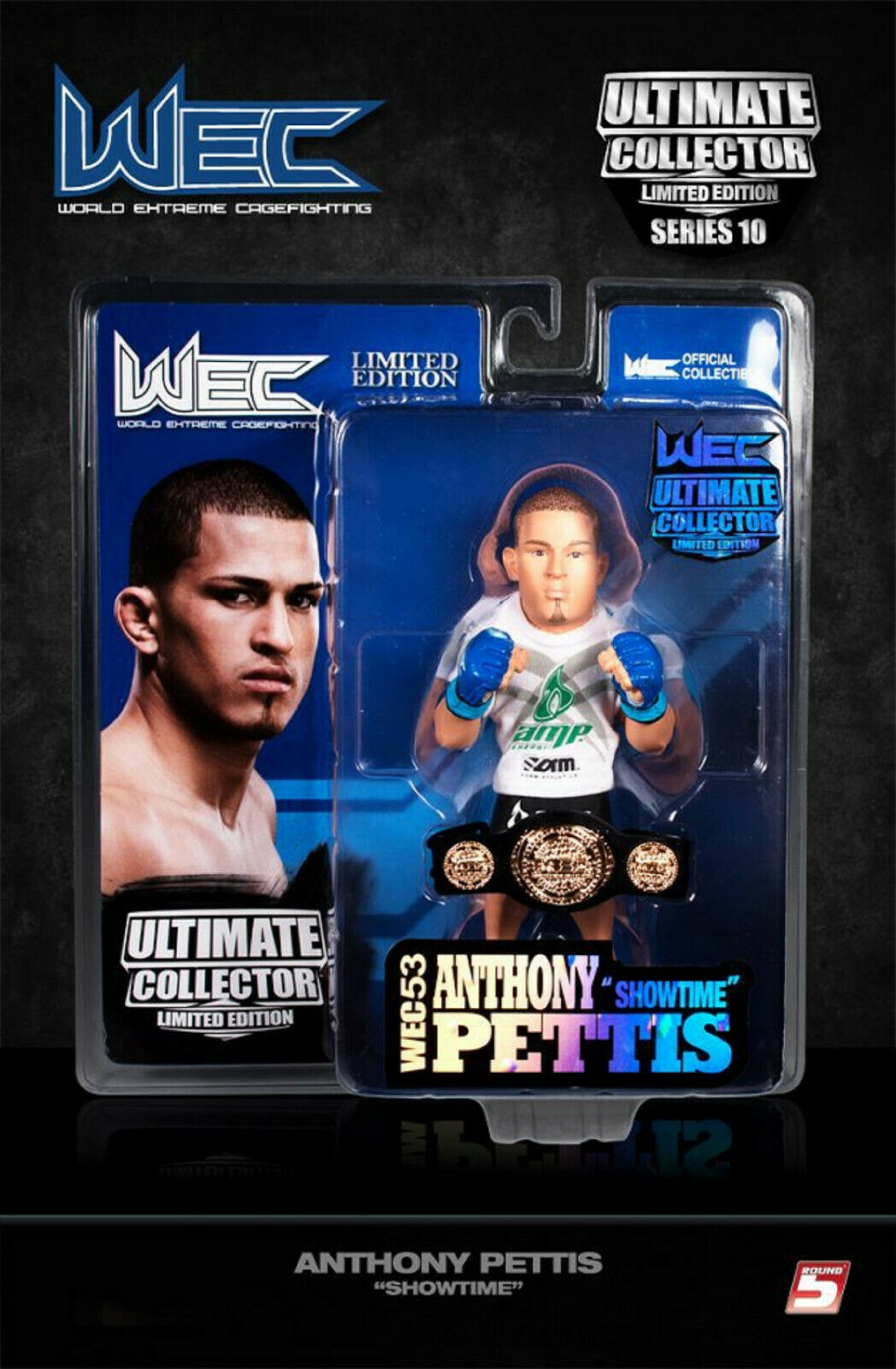 UFC ROUND 5 ANTHONY PETTIS LIMITED EDITION FIGURE WEC  BNIB