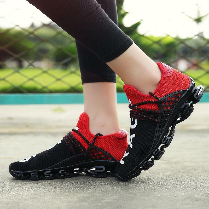 Youth Mens New Sports Shoes Breathale Elastic Mesh Runinng Shoes Casual Sneakers