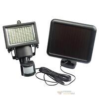 100 LED PIR Motion Sensor Solar Powered Security Flood Light Garden Outdoor Lamp