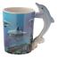 thumbnail 55 - Animal Shaped Handle Ceramic Mug Tea Coffee Cup Novelty Gift Jungle Tropical