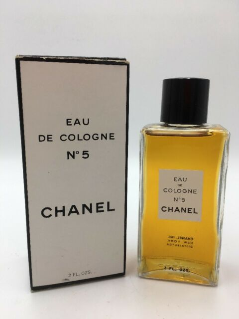 52cc4a74ff55 Vintage New CHANEL NO. 5 Paris Eau de Cologne 2 Oz NIB Fragrance 1 of