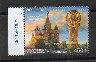 Briefmarken - 2018 - Armenien - Armenia - Fifa - Weltmeisterschaft - World Cup