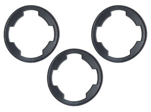 1967-1973 Ford Mustang Fairlane Galaxie Trunk Lock Cylinder Gasket Set of 2 New