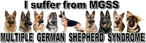 034-I-Suffer-from-MULTIPLE-GERMAN-SHEPHERD-SYNDROME-034-Dog-Car-Sticker-by-Starprint