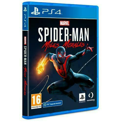SPIDER-MAN MILES MORALES PS4 NUOVO SIGILLATO ITALIANO PREVENDITA 12 NOVEMBRE
