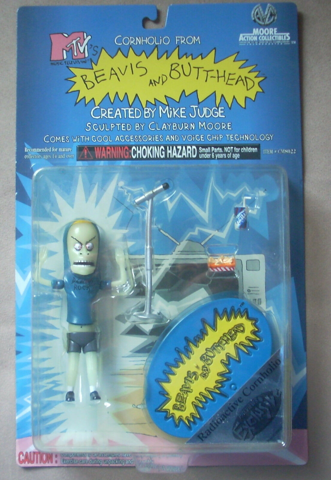 Beavis and Butt-head Radioactive Cornholio Preview Exclusive  CM8023