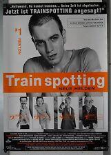 DS458 - Gerollt/KINOPLAKAT - TRAINSPOTTING #1 RENTON Ewan McGregor