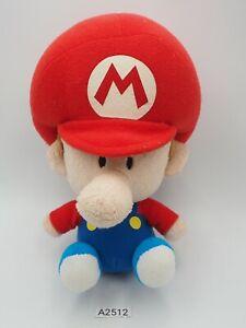 "Baby Mario A2512 Super Mario NO TUSHTAG Legit Plush 7"" Toy Doll Japan Nintendo"