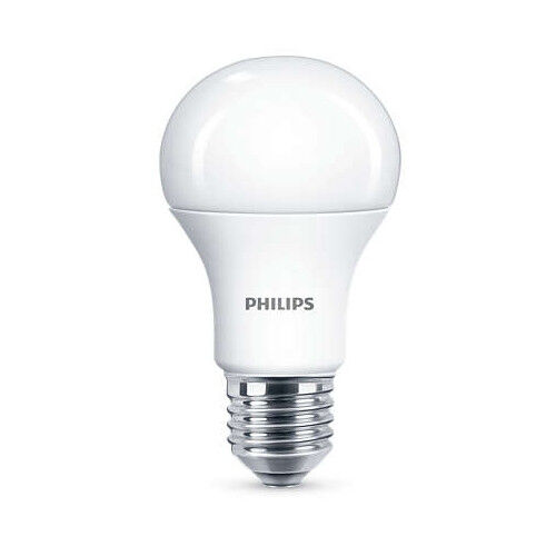 60 x Philips LED Frosted E27 Edison Screw 100w Warm Weiß Light Bulb Lamp 1521lm