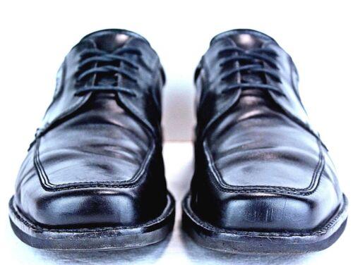 Ecco pelle Taglia 11 Scarpe Grembiule in 11 nera 5 Punta Mens Oxfords Mo28 rvHxTv