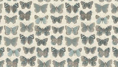 Fat Quarter Vintage Butterflies Cream Cotton Quilting Fabric Makower