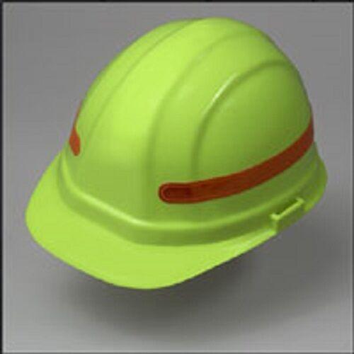 HiViz Sticker Orange Reflective 360 Degree Stripes for Hard Hats