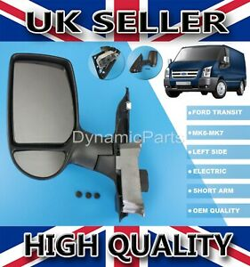 COMPLETE-DOOR-WING-MIRROR-ELECTRIC-HEATED-LEFT-N-S-FOR-FORD-TRANSIT-MK6-MK7