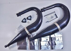 25-0567-99-700-XC-XP-RMK-SKS-Twin-NOS-SLP-Exhaust-Expansion-Pipes-Muffler-Set