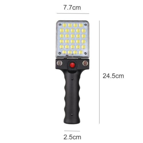 28*2835LED Rechargeable Work Light Inspection Lamp Torch USB Flashlight DI