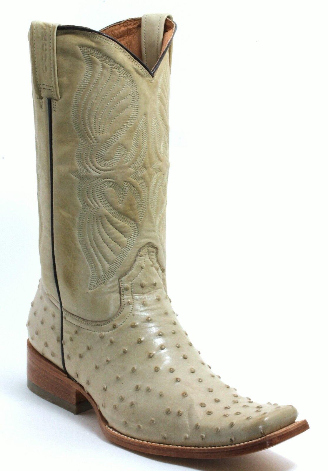 5 Cowboystiefel Westernreitstiefel Texas Stiefel Western Rancho Strauß Roper 42