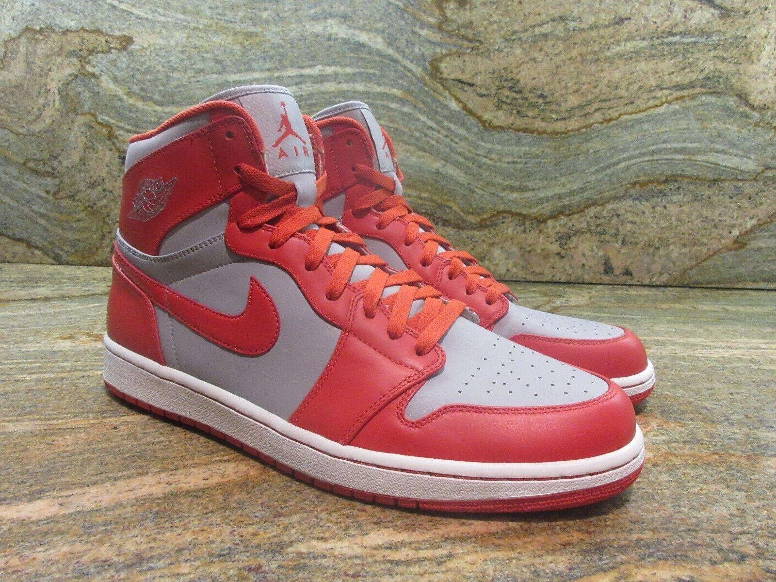 UNRELEASED Nike Air Jordan 1 Retro High Promo Sample SZ 13 Spice orange Grey PE