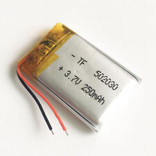 3.7V Lipo Battery Replace for GPS 808 #16 #18 #11 HD Car Key Micro Camera 502030