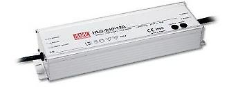 LED Trasformatore-Alimentatore 240w - 10a - 24v dc resistente all'acqua all'acqua all'acqua MeanWell  hlg-240h -24 a  ip6 3fb284