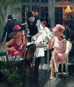 Cafe Royal ( Framed ) by Sherree Valentine-Daines