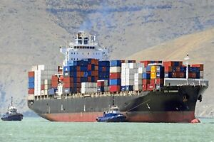 New-Postcard-Container-Vessel-Ship-CPO-SAVANNAH-J84