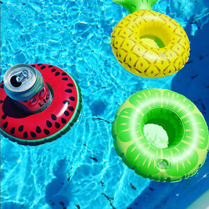 New-inflatable-Afloat-Watermelon-Lemon-Pineapple-Cup-Holders-Swimming-Poor-Toy