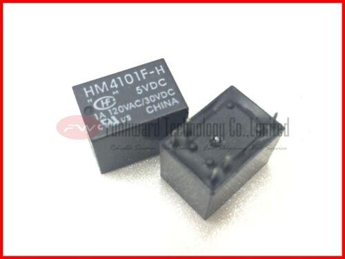 HM4101F-H 5VDC 1A General Purpose Relay 1A 5VDC 5 Pins x 10pcs