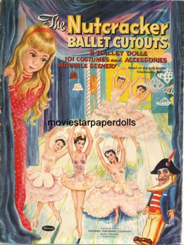 VINTAGE 1960 NUTCRACKER Ballet PAPER Doll LASER Repro Hi Qual LO PRICE TOP SELLE