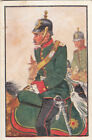 Saxony Artillery Pioneers Captain Deutsches Heer Germany Uniform IMAGE CARD 30s