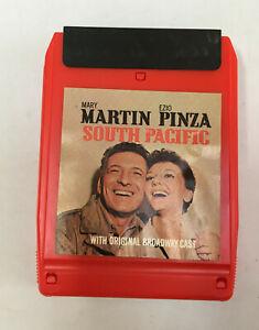 South Pacific,Mary Martin,Ezio Pinza,8 Track Tape,Tested,Original Broadway Cast