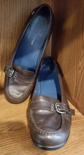 Tommy Hilfiger Chunky Heel Loafers