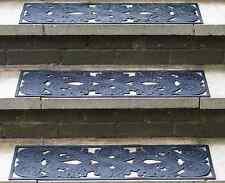 Outdoor Custodia in gomma antiscivolo di sicurezza Passo stuoie 2 Pack-riduce il rischio di scorrimenti & Falls