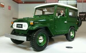 LGB 1:24 G Scale Toyota Land Cruiser FJ40 Very Detailed Motormax Diecast Model