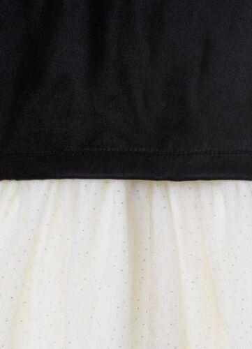 Baby Gap Girl/'s Black Velvet Layer Tutu Tulle Ivory Dress 3T 3 Years NWT RTL $58