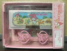 2016 NEW Sanrio MY MELODY mini pencil pen case with clips notebook box