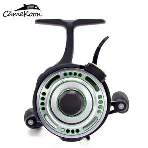 CAMEKOON FL501L Inline Ice Fishing Reel 2.5:1 Freefall Left Handed Retrieve Reel