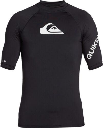 Wassersport Shirt Lycra QUIKSILVER ALL TIME SS Lycra 2020 black T-shirt