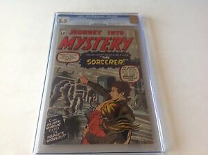 JOURNEY INTO MYSTERY 78 CGC 5.5 OFF WHITE PS DOCTOR STRANGE PROTO MARVEL COMICS